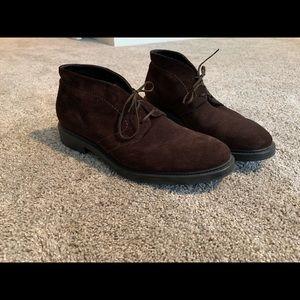 Doucal's suede chukka boots